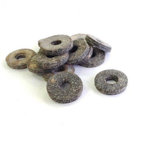 Rondelle de feutre bitumé - étanchéité tôle et bac acier (25 pièces)