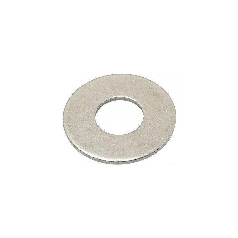 Rondelle plate large LU en INOX A4 - norme NFE-25513