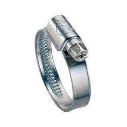 Collier de serrage ZINGUE - W1 - DIN 3017 - Lg 12 mm