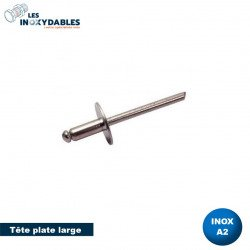 3.2 x 9.0 mm 500 pièces alu//acier inoxydable a2 Gobelet aveugle Rivets Senkkopf dense Rivets