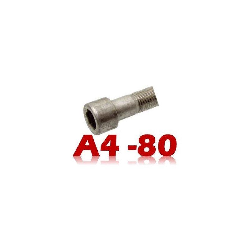 """Vis metaux - tête cylindrique 6 pans creux """"TBHC"""" - DIN 912 - INOX A4"""