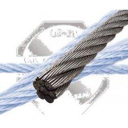 Câble INOX A4 7 x 7 souple - 7 torons / 7 fils