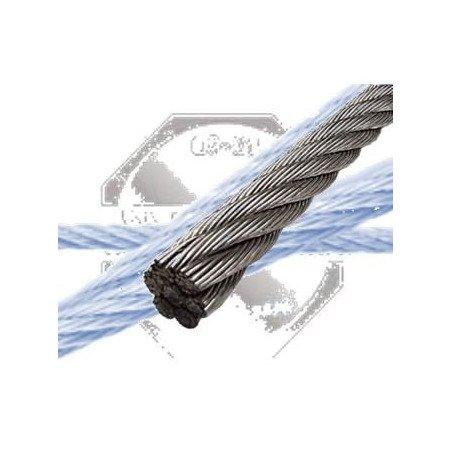 Câble INOX A4 1 x19 souple monotoron - 1 toron / 19 fils