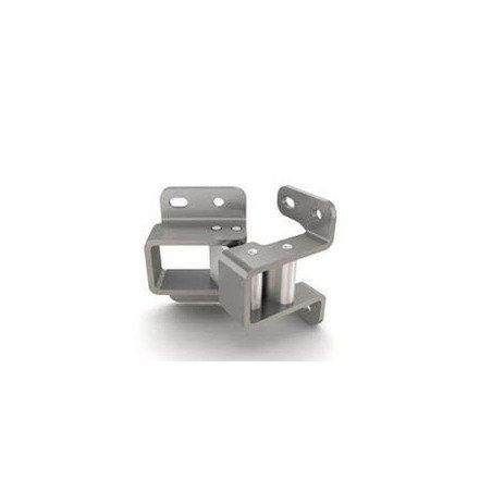 Charnière invisible bistable ouverture 90 degrés - INOX A4 MARINE