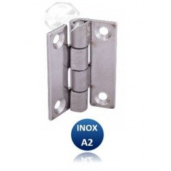 Charnière rectangulaire - INOX A2