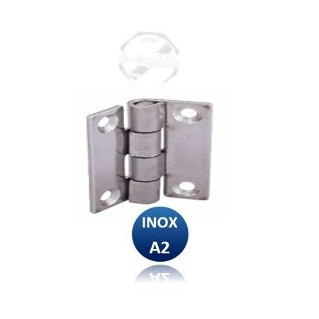 Charnière carré   - INOX A2