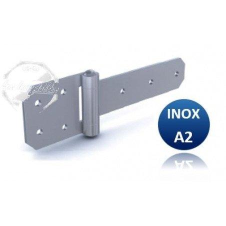 Charnière - INOX A2- Renforcé 23x65/39x4mm