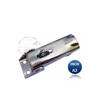 fermeture  /Sauterelle porte cadenas - INOX A2