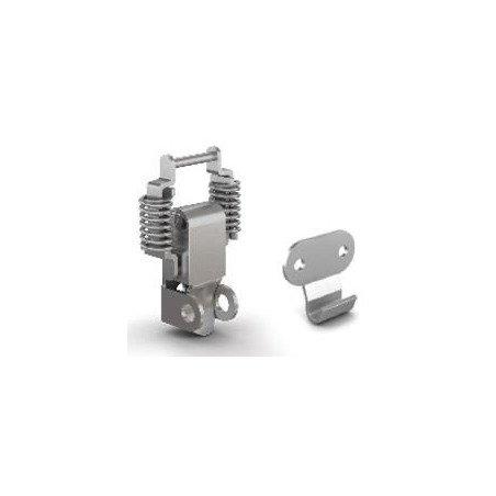 Grenouillère A2 - réglable à ressort porte cadenas   INOX A2