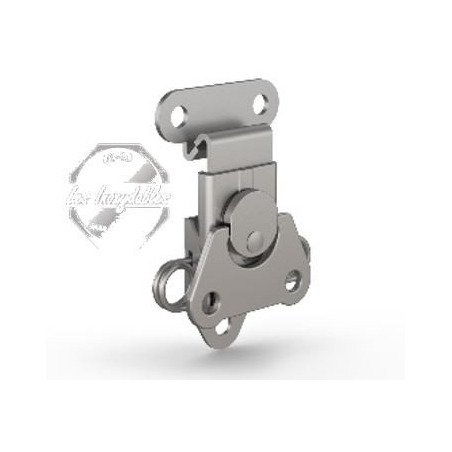 Grenouillère rotative à ressort INOX A2