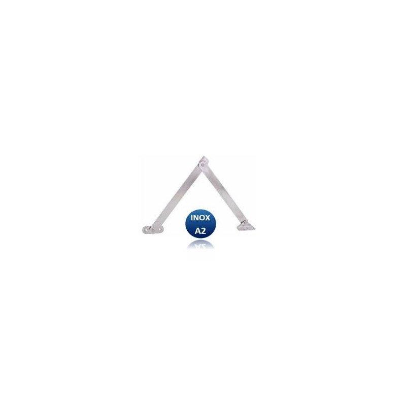 Compas sur platine - INOX A2 (G/D)