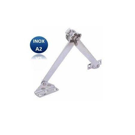 Compas friction à vis de blocage - INOX A2 (G/D)