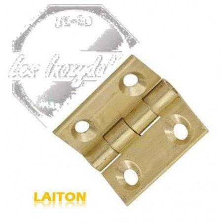 Charniere carré - LAITON