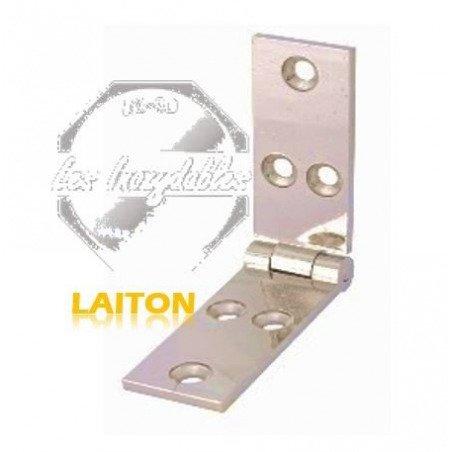 Charniere longue - LAITON