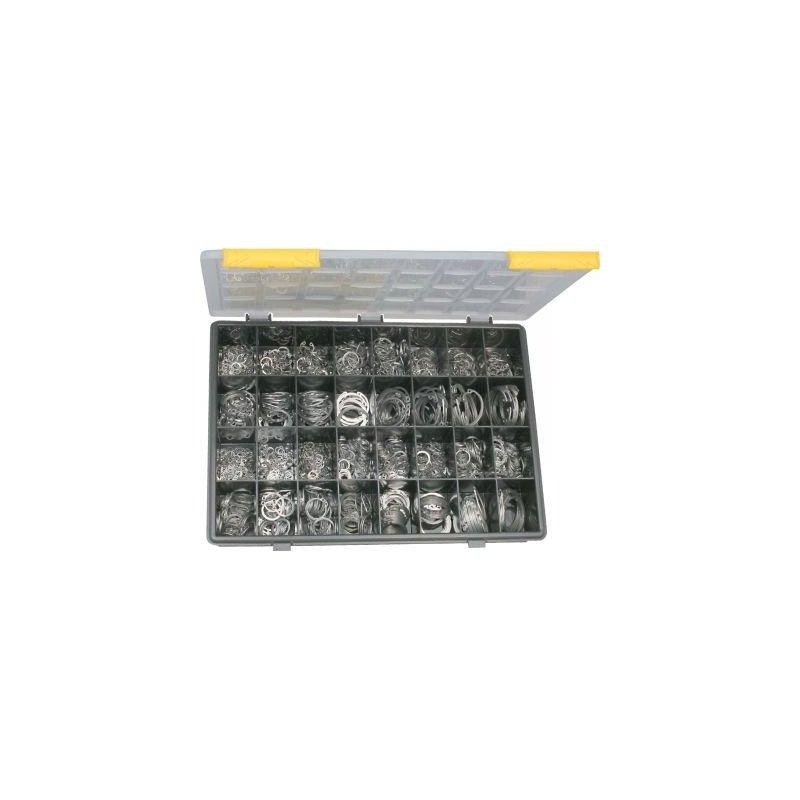 Coffret de circlips interieur - exterieur - INOX A2
