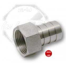 Raccord - embout pour tuyau femelle- INOX A4
