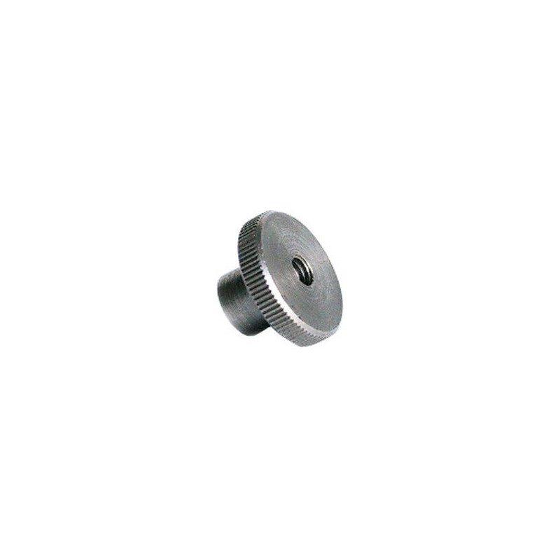 Ecrou moletée - Type haut -DIN466 - INOX A2