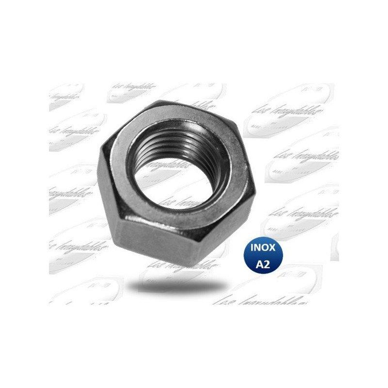 Ecrous - Hexagonal - HU - DIN 934 - INOX A4 - M 2