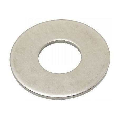 Rondelle plate large INOX A2 selon norme NFE 25513 L Type LU