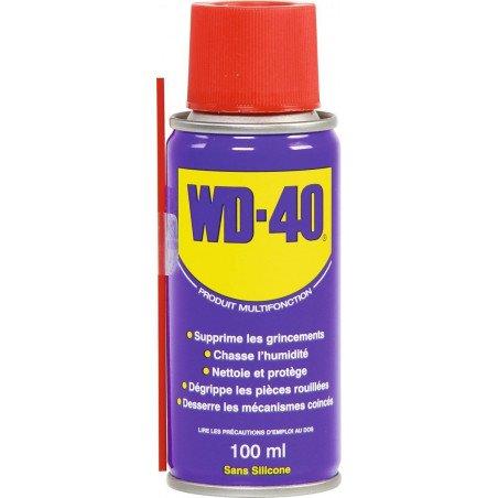 WD 40 Dégrippant Lubrifiant multifonction 100 ml en Bombe