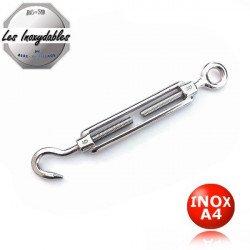 Ridoir - tendeur anneau/crochet - INOX A4 Marine marine