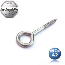 Piton metaux rond - INOX A2