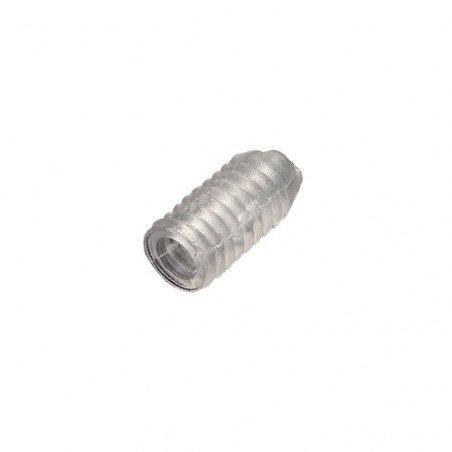 5 Douilles à frapper nylon Diamètre 5 mm x longueur 11 mm - passage de 3 mm